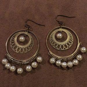 Boho dangly earrings